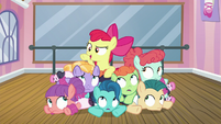 "Apple Bloom ""let's give it one more whirl"" S6E4"
