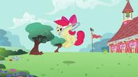 Apple Bloom jumping hoop S2E6