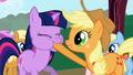 Applejack Twilight Sparkle Forcefeeding S1E1.png