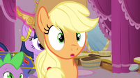 Applejack adorable wonder expression S3E13