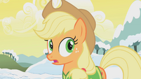 Applejack surprised S1E11