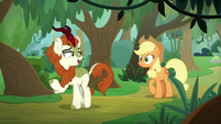 Autumn Blaze excitedly rambling S8E23