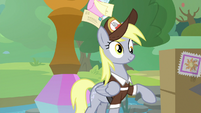 Derpy bounces back to her hooves S9E5