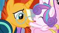 Flurry Heart touches Sunburst's muzzle S6E2.png