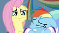 Fluttershy tearing up S5E5.png