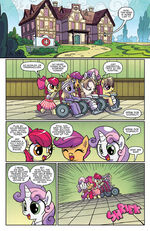Ponyville Mysteries issue 1 page 1