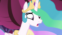 Princess Celestia -you think I don't get tired-- S7E10