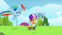 Rainbow -I shouldn't have snapped at my parents!- S7E7