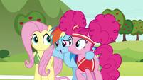 Rainbow Dash --representing all of Ponyville-- S6E18