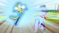 Rainbow grows wings and shines bright EG3
