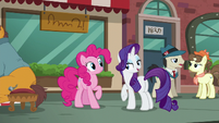 Rarity --until you actually get a pouch for Maud-- S6E3