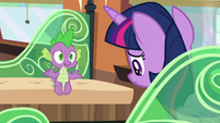 Spike --but giving her the space to make her own decisions-- S6E2
