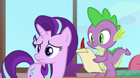 Starlight and Spike worried about students S8E1