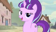 Starlight encomienda las ponis a Double Diamond EMC-P1