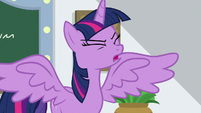 "Twilight ""they run a resort in Las Pegasus!"" S8E16"