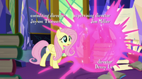 Twilight teleports away from Fluttershy S5E23