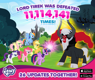 26 Updates Together MLP mobile game