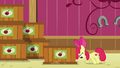 Apple Bloom pushing a crate of cider S6E23.png