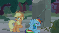 Applejack -it'd take a whole team of ponies- S7E25