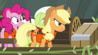 Applejack tries to take over steering S4E09