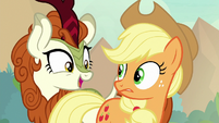 "Autumn Blaze ""who's Fluttershy?"" S8E23"