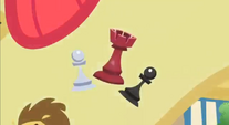 Chess pieces cutie mark S2E6