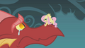 Fluttershy consoles the crying dragon S1E07.png