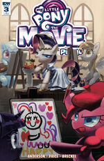MLP The Movie Prequel issue 3 cover RI