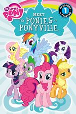 My Little Pony Meet the Ponies of Ponyville storybook cover