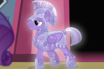 Pegasus Crystal Pony royal guards table