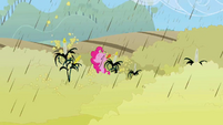 Pinkie Pie Enjoying the rain S02E01