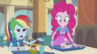Pinkie Pie drums more excitedly EG2