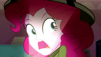 "Pinkie Pie spookily says ""missing!"" SS11"