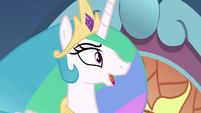 "Princess Celestia ""...to retire!"" S9E1"