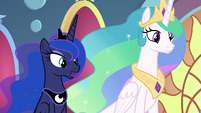 "Princess Luna ""there is more to it"" S9E1"