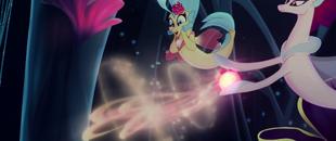Queen Novo casting transformation magic MLPTM