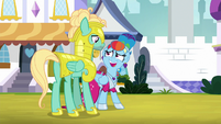 Rainbow -you're real guard material- S9E4