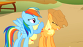 Rainbow Dash and Applejack competing S1E13.png