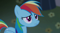 Rainbow Dash ficando nervosa T4E03