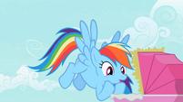 Rainbow Dash oh no! S2E8