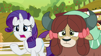 "Rarity ""we only have a few more days"" S9E7"