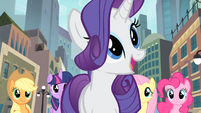 Rarity 'And there's always opportunity' S4E08