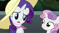 Rarity --she's had such a rough start-- S6E7