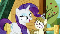 Rarity -I didn't even see you there!- S7E6