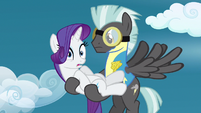 Rarity collecting herself S3E7