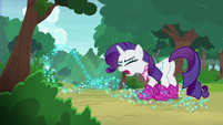 "Rarity shouting ""fine by me!"" S8E17"