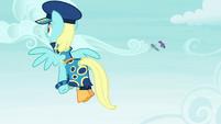 Sassaflash as Admiral Fairy Flight S4E21