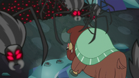 Spiders descending upon Yona S8E22