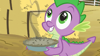 Spike excited about seeing Rarity S03E09