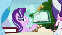 Starlight talking about Daring Do S8E17